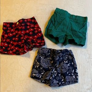 Lot of 3 baby shorts